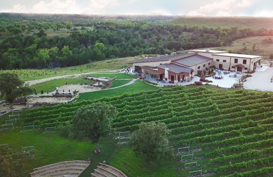 Liquid Art Winery and Estate aerial