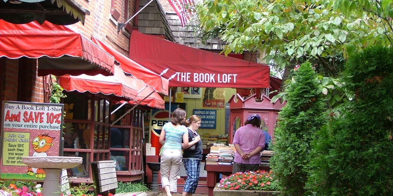 the 32-Room Book Loft in German Village