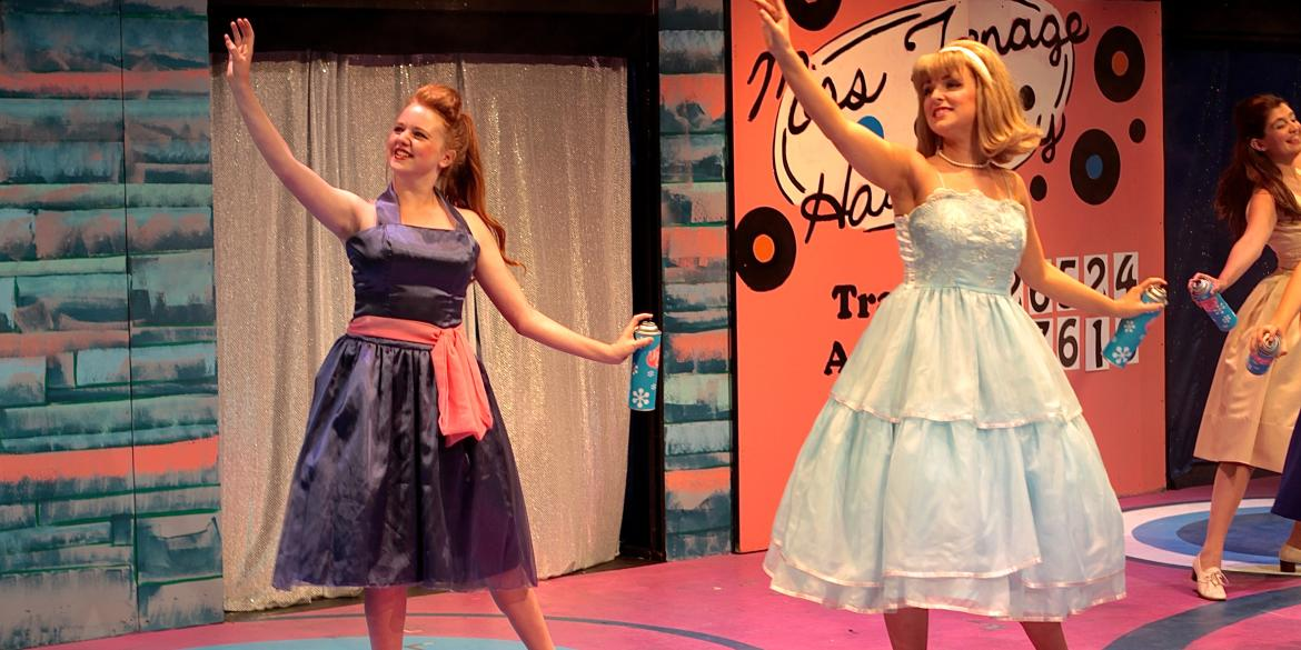 Hairspray performance at Columbus Children's Theatre