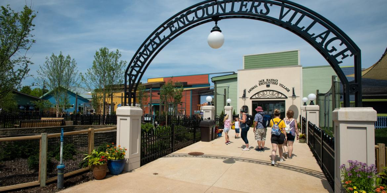 Animal Encounters Village at the Columbus Zoo and Aquarium
