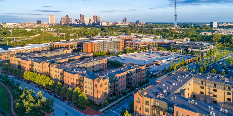 Grandview cityscape