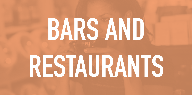 Bars and Restaurants pledge