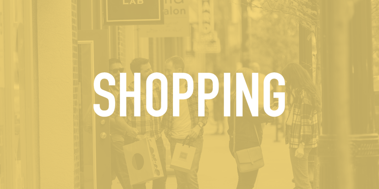 Shopping - pledge
