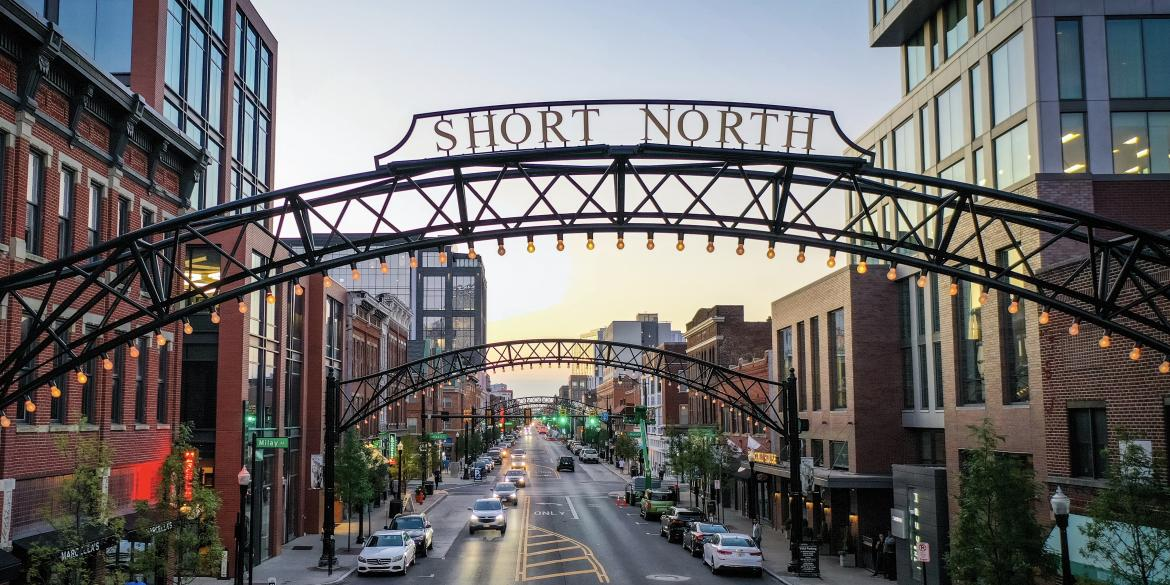 Short North Arts District in Columbus