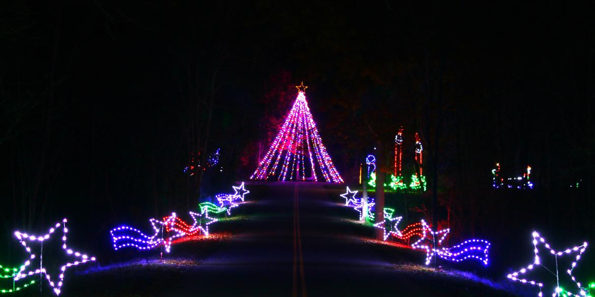 Butch Bando's Fantasy of Lights at Alum Creek State Park