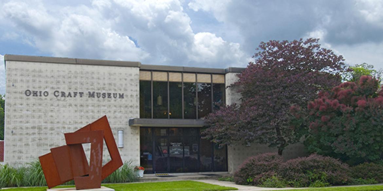 Exterior of Ohio Craft Museum