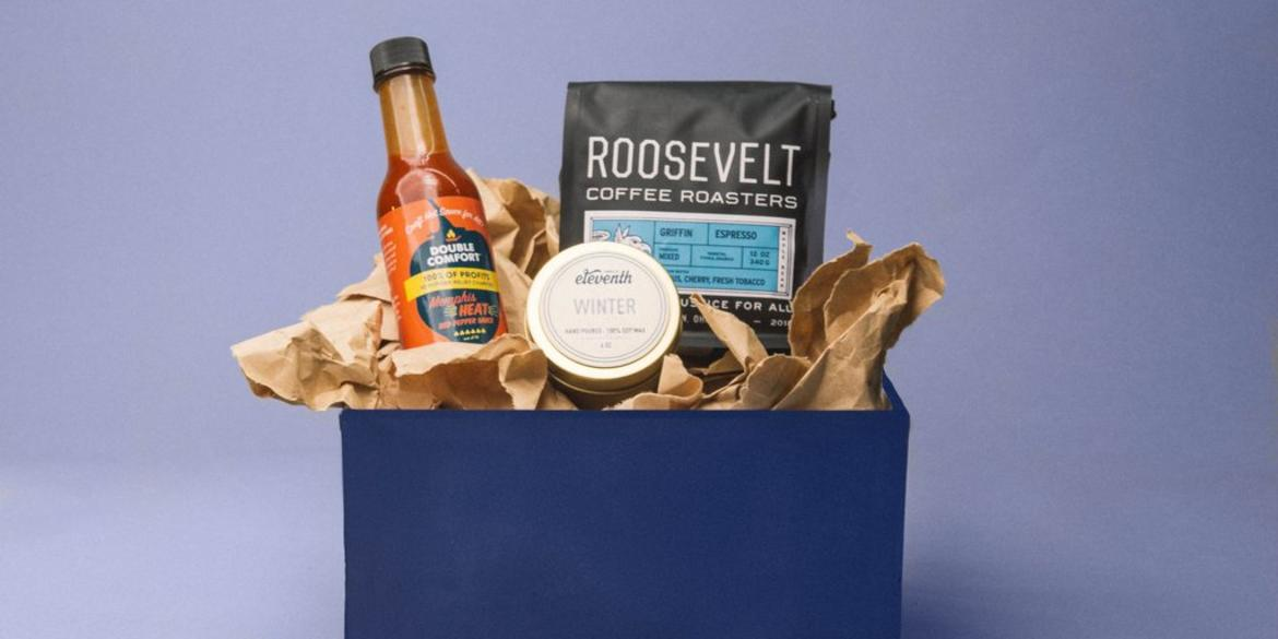 Social Ventures Impact Boxes - Roosevelt, Double Comfort and Eleventh Candle co.