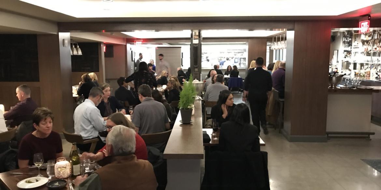Veritas Dining room