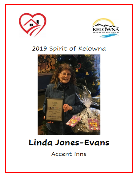 Spirit of Kelowna Award Winner