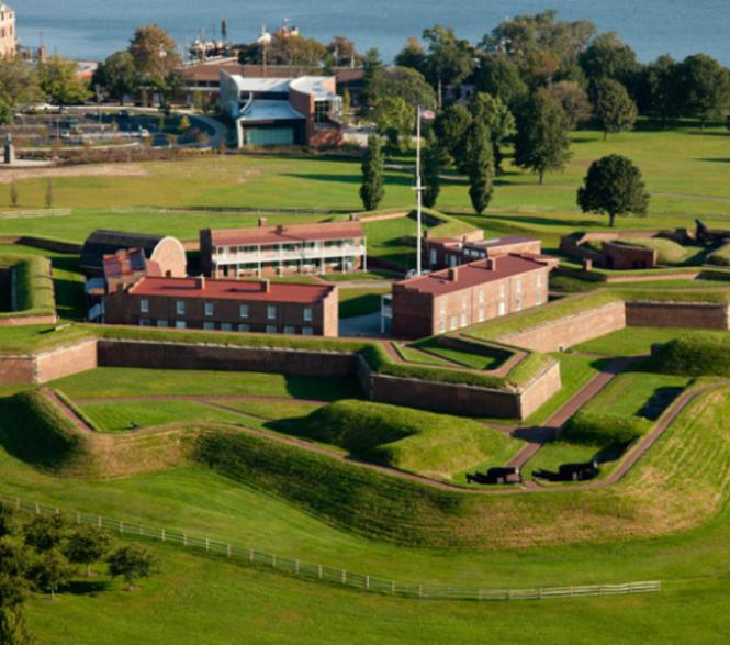 Fort McHenry national Historic Site in Baltimore.