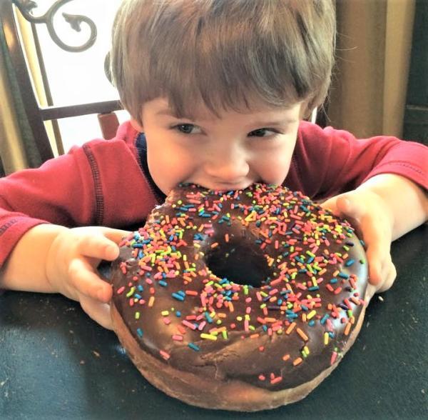 Hans Bakery Texas Doughnut
