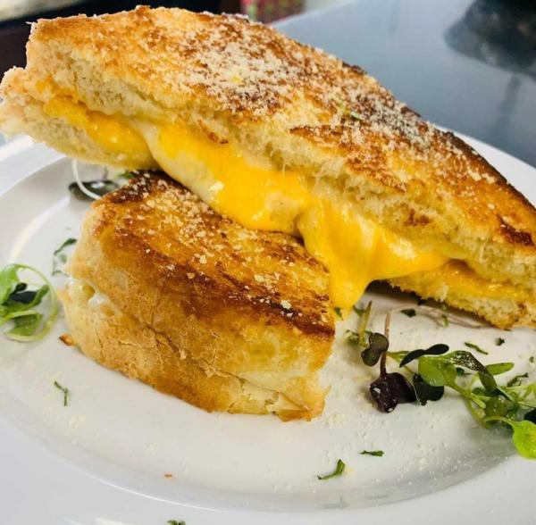 Happy Cafe Grilled Cheese