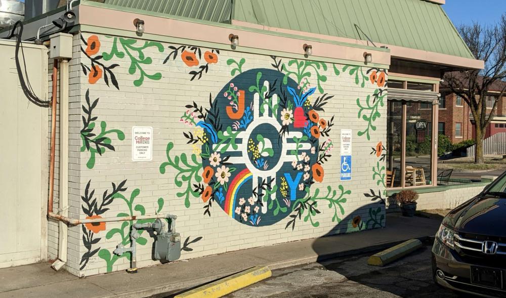 We've Got the Joy Mural