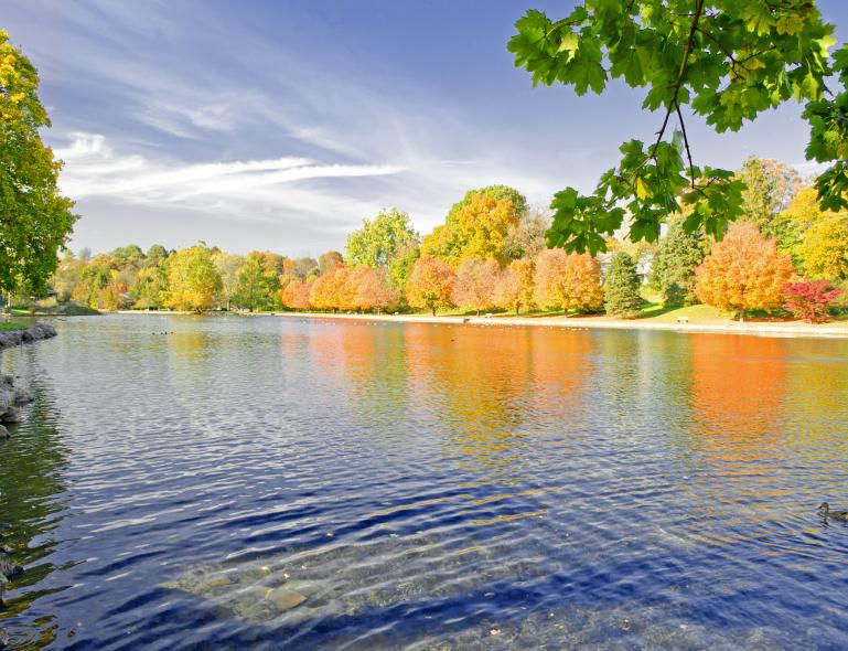 Children's Lake In The Cumberland Valley