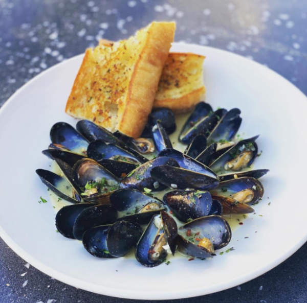Pacific mussels