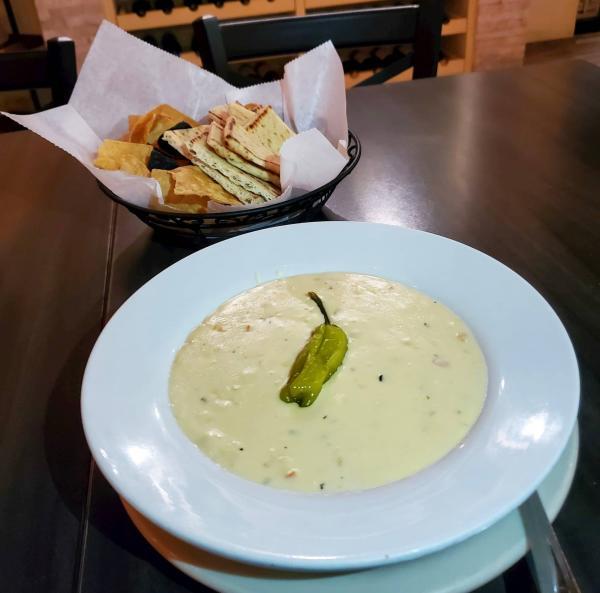 Creamy Corn Queso from Sabor