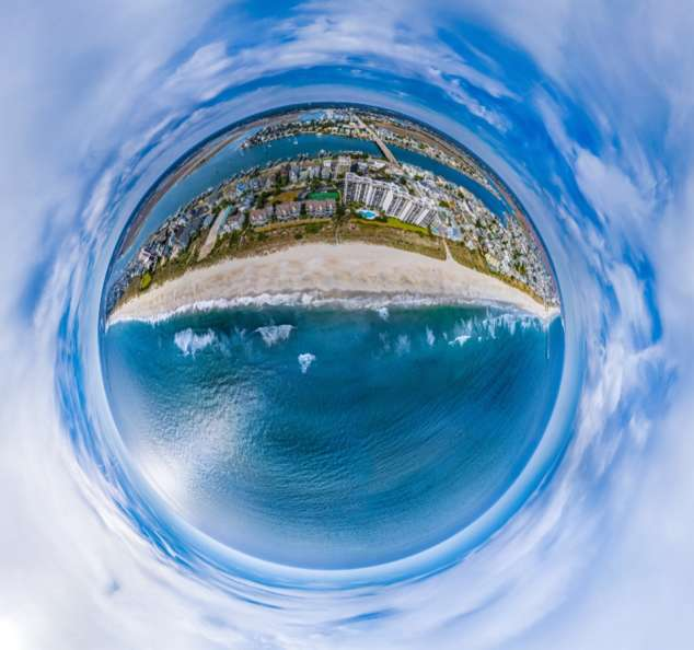SkyNAV Wrightsville Beach Planet
