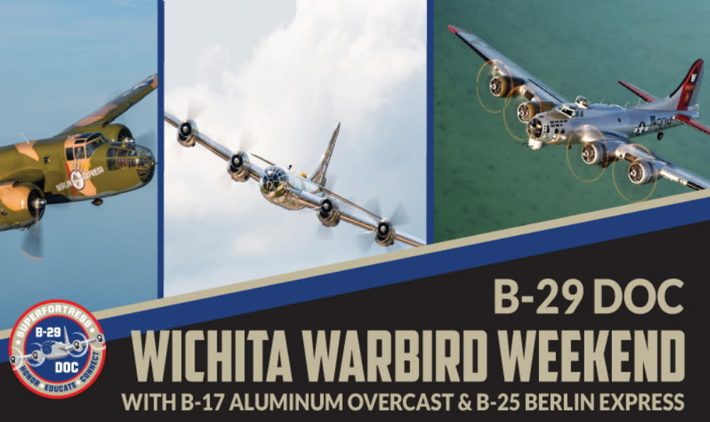 B-29 Doc Wichita Warbird Weekend