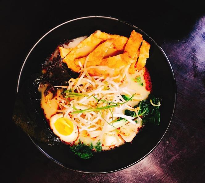 A bowl of ramen from Shika Sushi & Ramen.