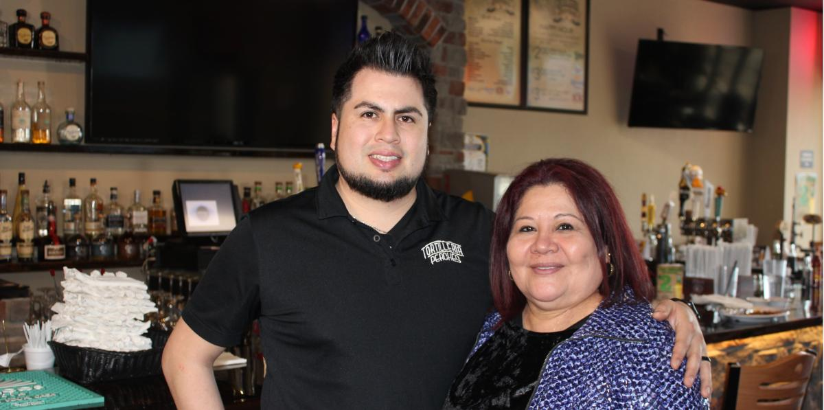 Jesus and Maria Perches, owners of Tortilleria Perches in Springfield, Missouri