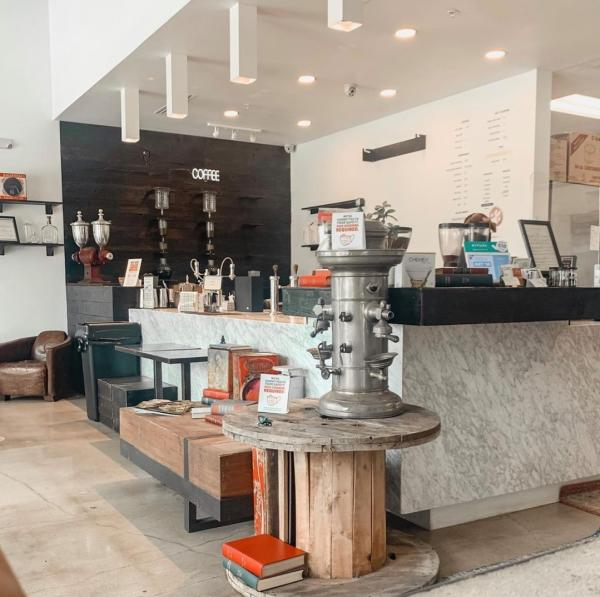 Coffee Bar At Cavo Coffee In Houston, TX