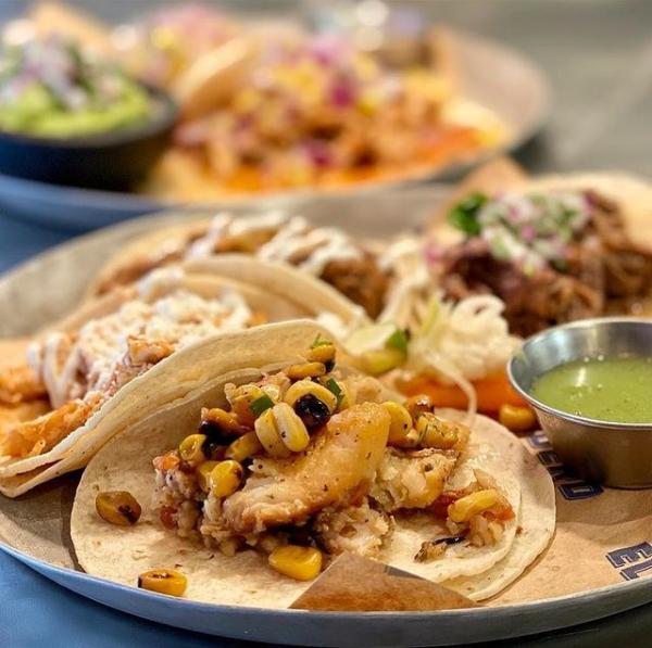Tacos at El Taqueria