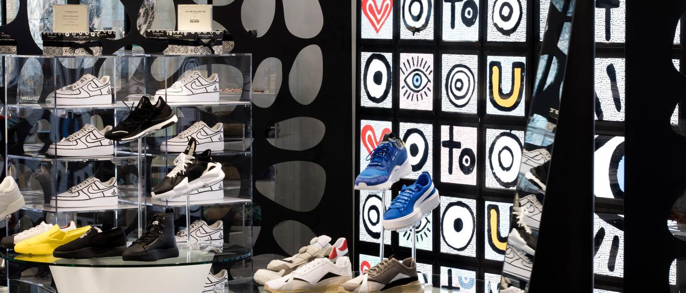 10 Corso Como, interior, shoes