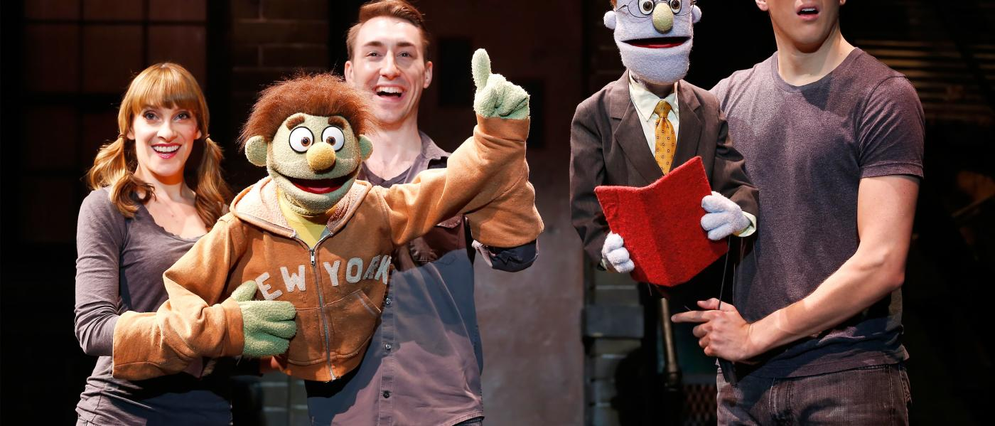 Avenue q, production still