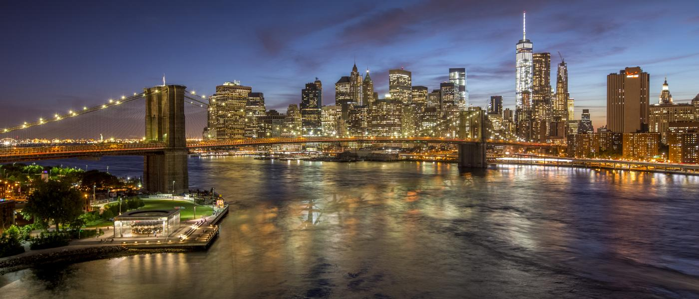 Brooklyn Bridge, Manhattan skyline, brooklyn, Tom Perry