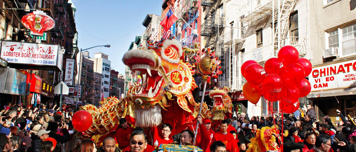Lunar new year, parade