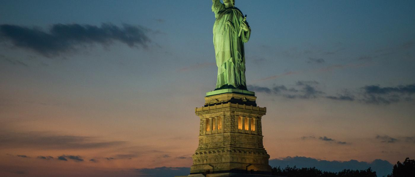 Statue of Liberty, Dusk