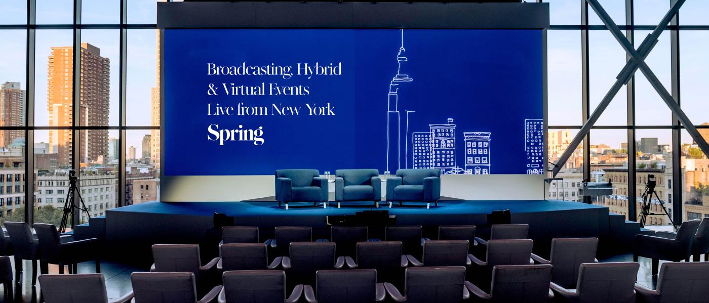 Spring Studios Broadcast Studio