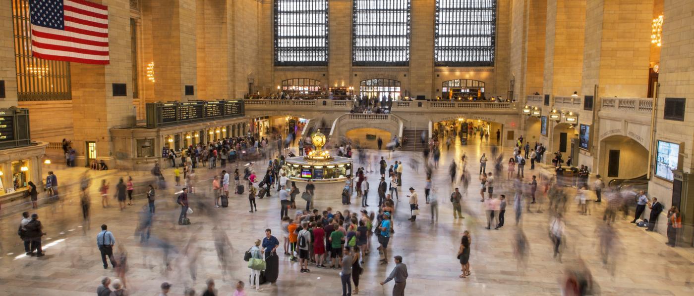 Grand Central, interior