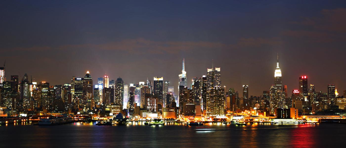Manhattan Skyline - West Side