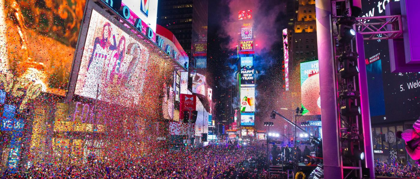 NYE, Times Square, Ball Drop