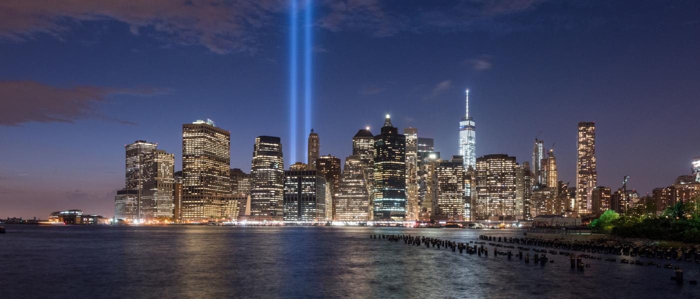 September 11 Tribute in Light (Photo: Julienne Schaer - NYC & Company)
