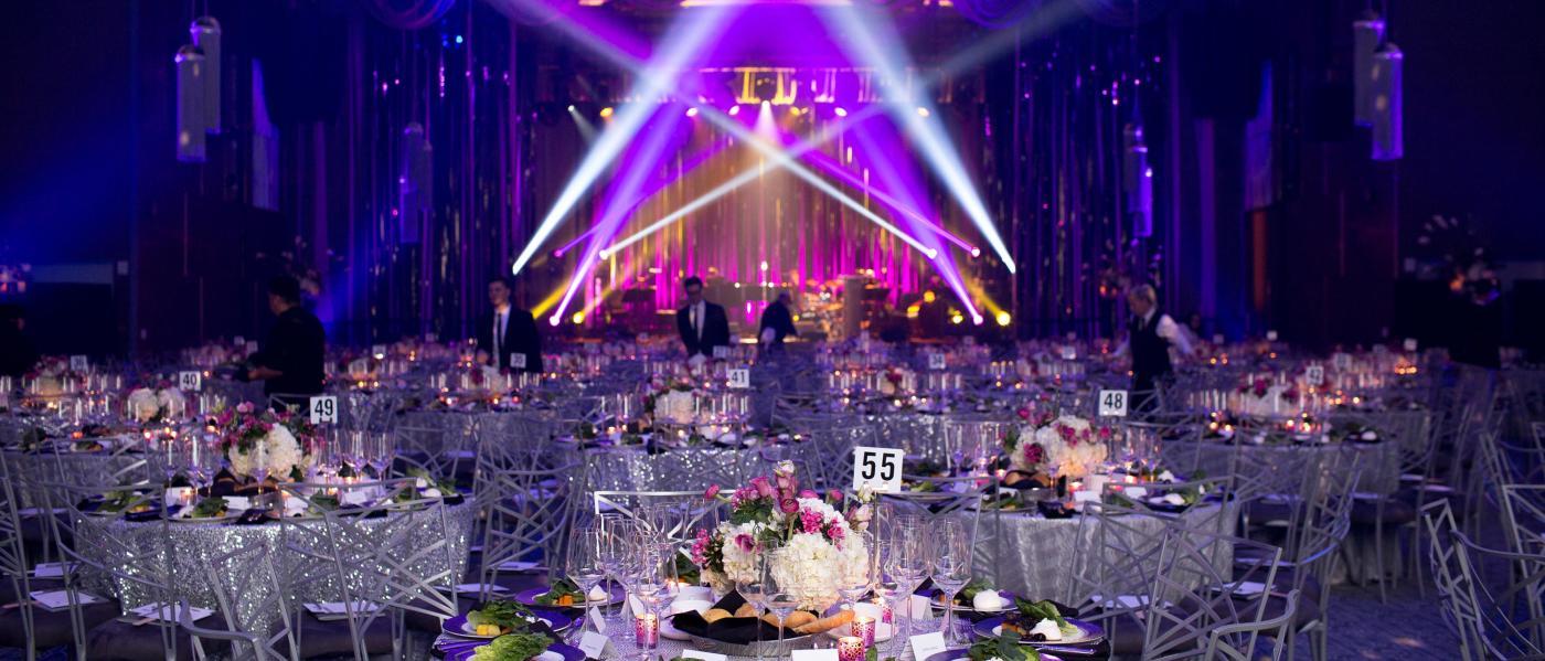 ziegfeld ballroom, event, interior