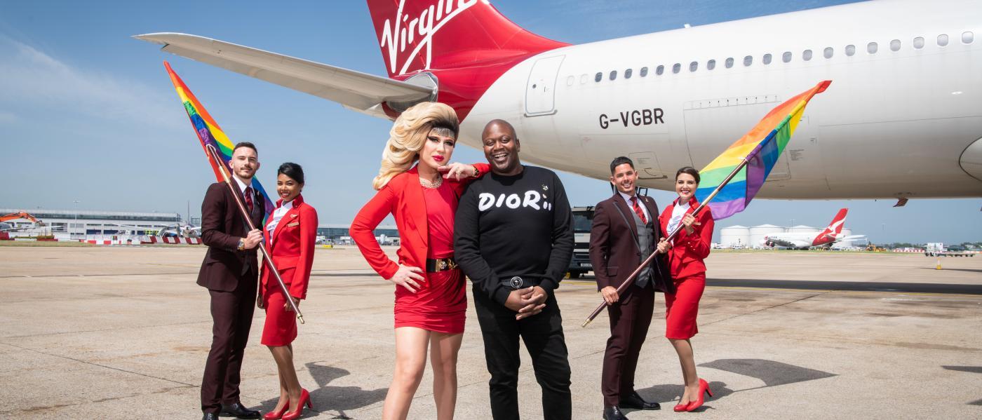 Virgin Pride Flight Pre-Flight Photo