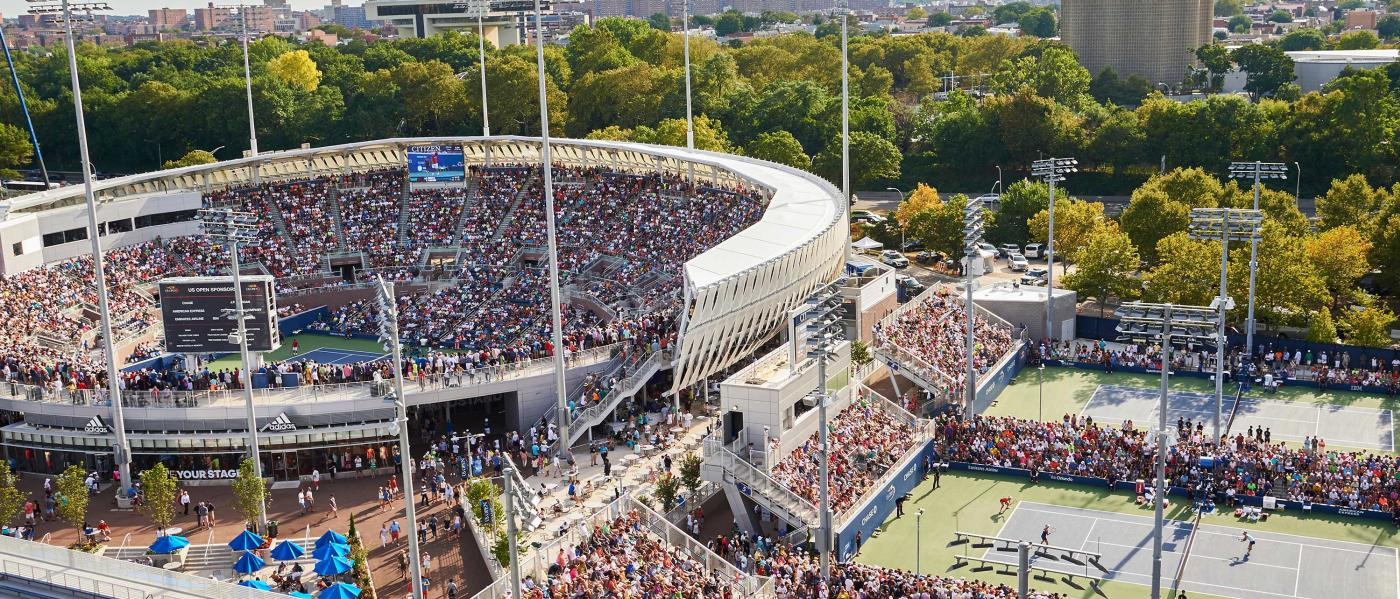 us open, arthur ashe stadium