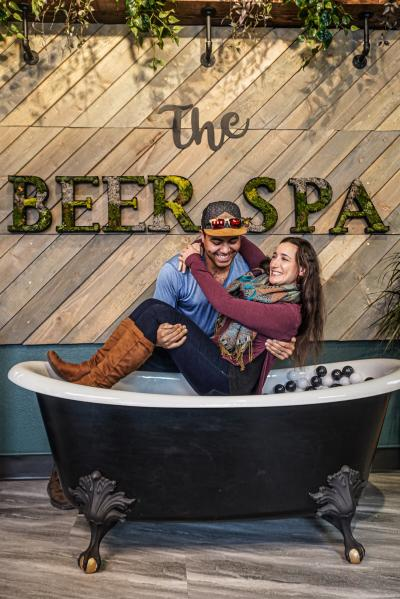 Beer Spa in Denver, Colorado