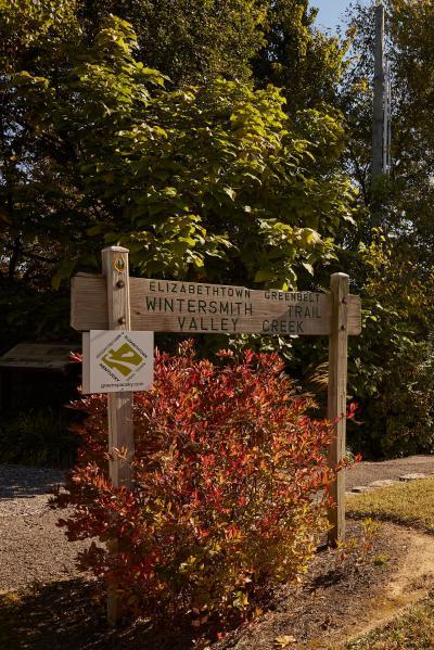 Wintersmith Trail Sign