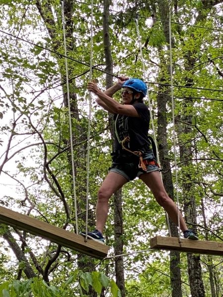Barefoot Acres Ropes Course