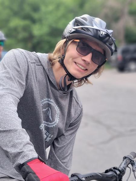 Carri Ward Biking Family