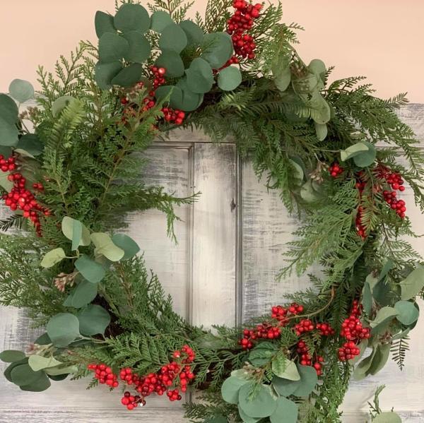 Miller's Plant Farm Wreath