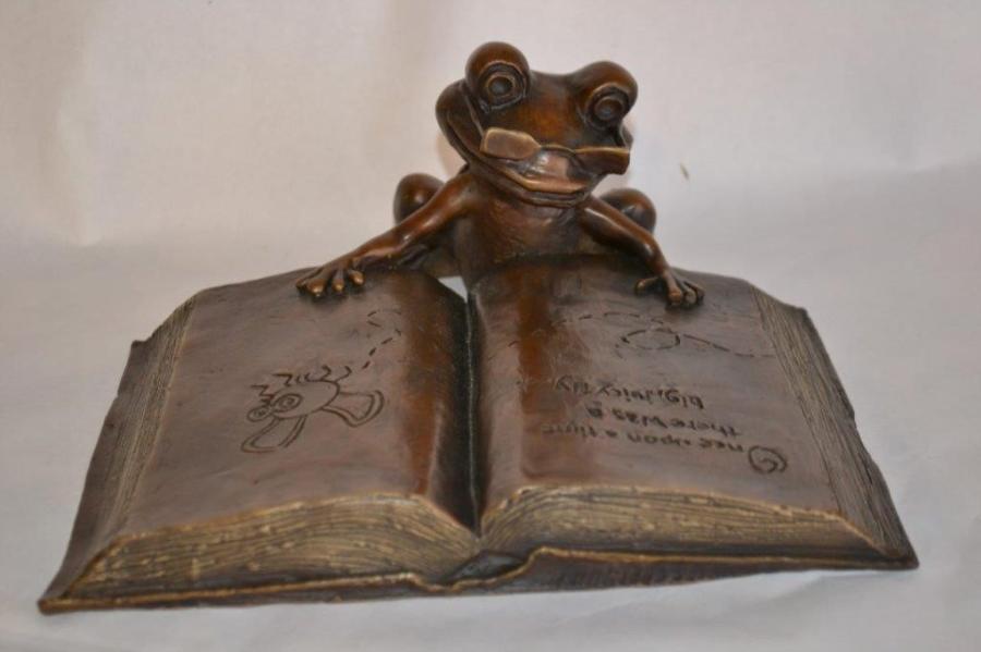 Thaddeus T. Toad Statue In Bastrop, TX