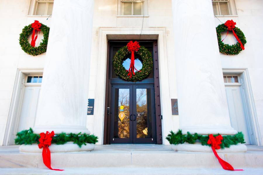 Huntsville Christmas First National Bank