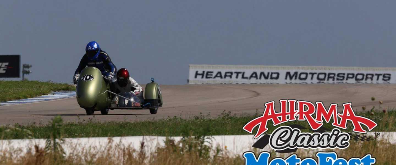 AHRMA Classic MotoFest in The Heartland - Heartland Motorsports Park | Topeka, KS