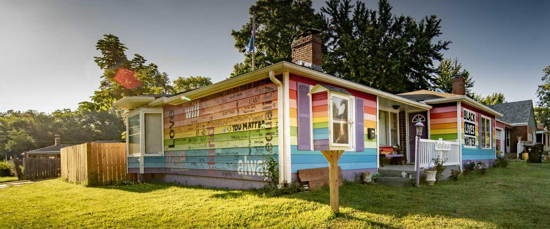 The Equality House - Rainbow house | Topeka, KS