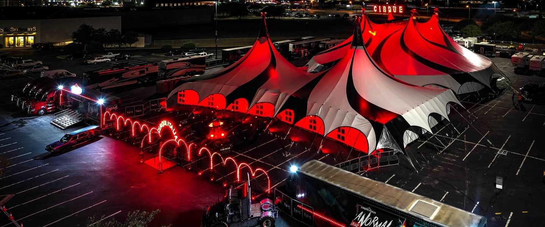 Paranormal Cirque - Big Top Tent