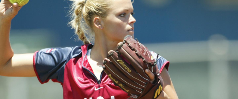 USA Softball Girl
